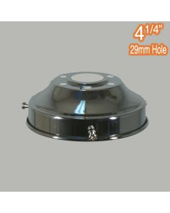 4.25 inch Gallery Lights Polished Chrome Traditional Period Lighting