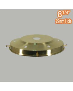 Period Lighting 8.25 inch Gallery Polished Brass Traditional Components Spare Parts