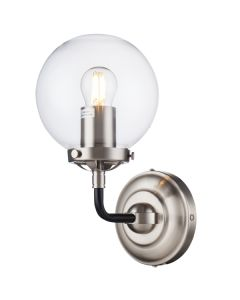 Nickel Industrial Lighting Goth Wall Lights Sconce Replica Ian Fowler Bistro Collection