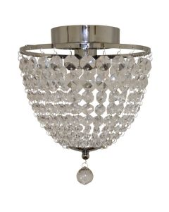 Grace DIY Crystal Batten Fix Ceiling Lights Bedroom Lighting Telbix