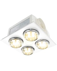 LED Horizon Bathroom IXL 19849/05 Shower Heater Exhaust Lights Fans Lighting