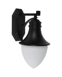 Cheap IP44 Kansas Industrial Lighting Exterior Wall Lights Matte Black Outdoor