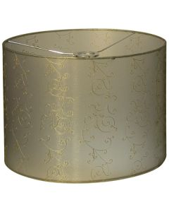 Lacey 40 Large Fabric Lamps Shade Gold