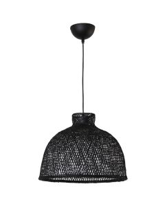 Black Bamboo Hanging Ceiling Lights Rattan Pendants Replica Ay Illuminate M1 Lighting