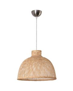 Bamboo Hanging Ceiling Lights Beachy Rattan Pendants Replica Ay Illuminate M1 Lighting