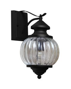 IP44 Outdoor Lighting Maine Exterior Traditional Period Wall Lights Matte Black