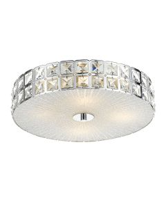 Marisa 40 Crystal Ceiling Oyster Lights Cheap Lighting Telbix