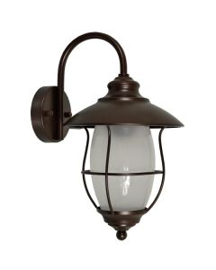 Navel Bronze Outdoor Traditional Lighting Exterior Wall Lights Brown