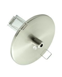Downlight Recessed Pendants Lights Canopy Brushed Chrome