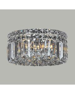 Traditional Crystal Lighting Rotondo Small CTC Lights Ceiling Flush Lode International