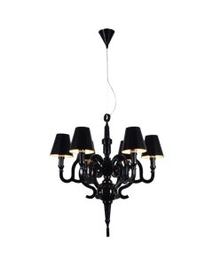 Replica Moooi Paper Studio Job Pendants Lights Lighting Black Chandelier Shade