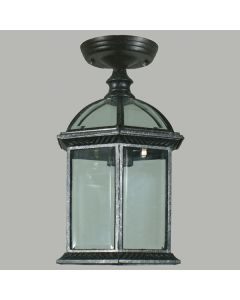 Station Outdoor Under Eave Lights Black Exterior Patio Lighting Period