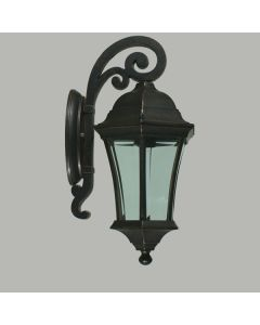 Strand Outdoor Small Wall Lights Antique Bronze Exterior Lighting