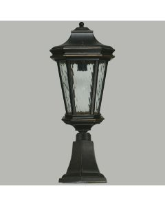 Brick Post Top Exterior Lighting Tilburn Pillar Mount Lights Lode International