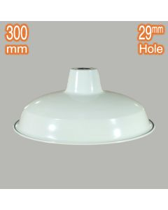 Warehouse Small Metal Lamps Shades White Industrial Lighting