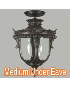 Wellington Exterior Eave Lighting Traditional Period Lights Patio Outdoor
