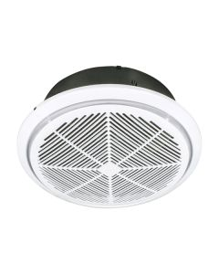 Whisper 270 Round Exhaust Fans High Air Movement White 18203 Brilliant Lighting