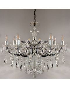 Zurich Crystal 8 Lights Classical Chandelier Lighting Pendants Lode International