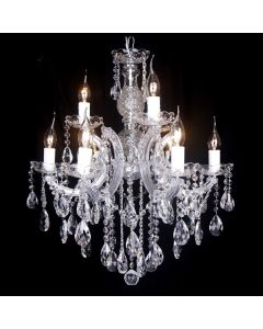 Chandelier Lighting Zurich Crystal 9 Lights Classical Pendants Lode International
